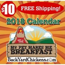 2018  BackYardChickens Calendar