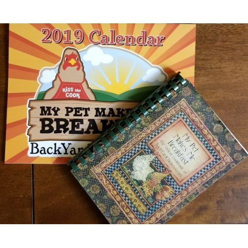 2019 BackYardChickens Cookbook-Calendar Gift Set