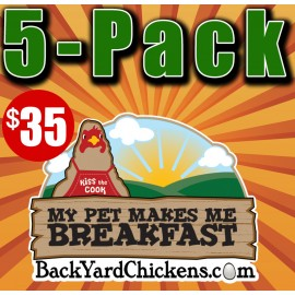 2019 BackYardChickens Five Calendar Gift Pack