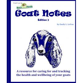 Goats Notes e-book