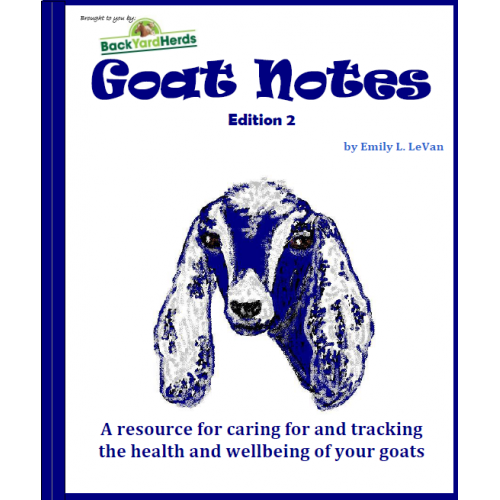 Goats Notes e-book