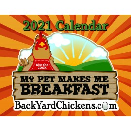 2021  BackYardChickens Calendar-Free US Shipping